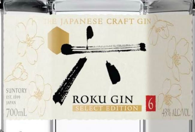 Suntory Roku Select Edition Japanese Gin